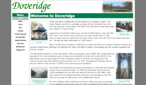 Previous Doveridge welcome page